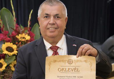 Hafuzi Avnija Képviselőtársunk kitüntetése